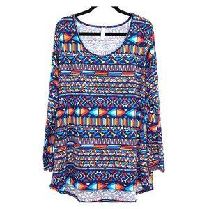 LulaRoe Long sleeved Shirt SZ 3x